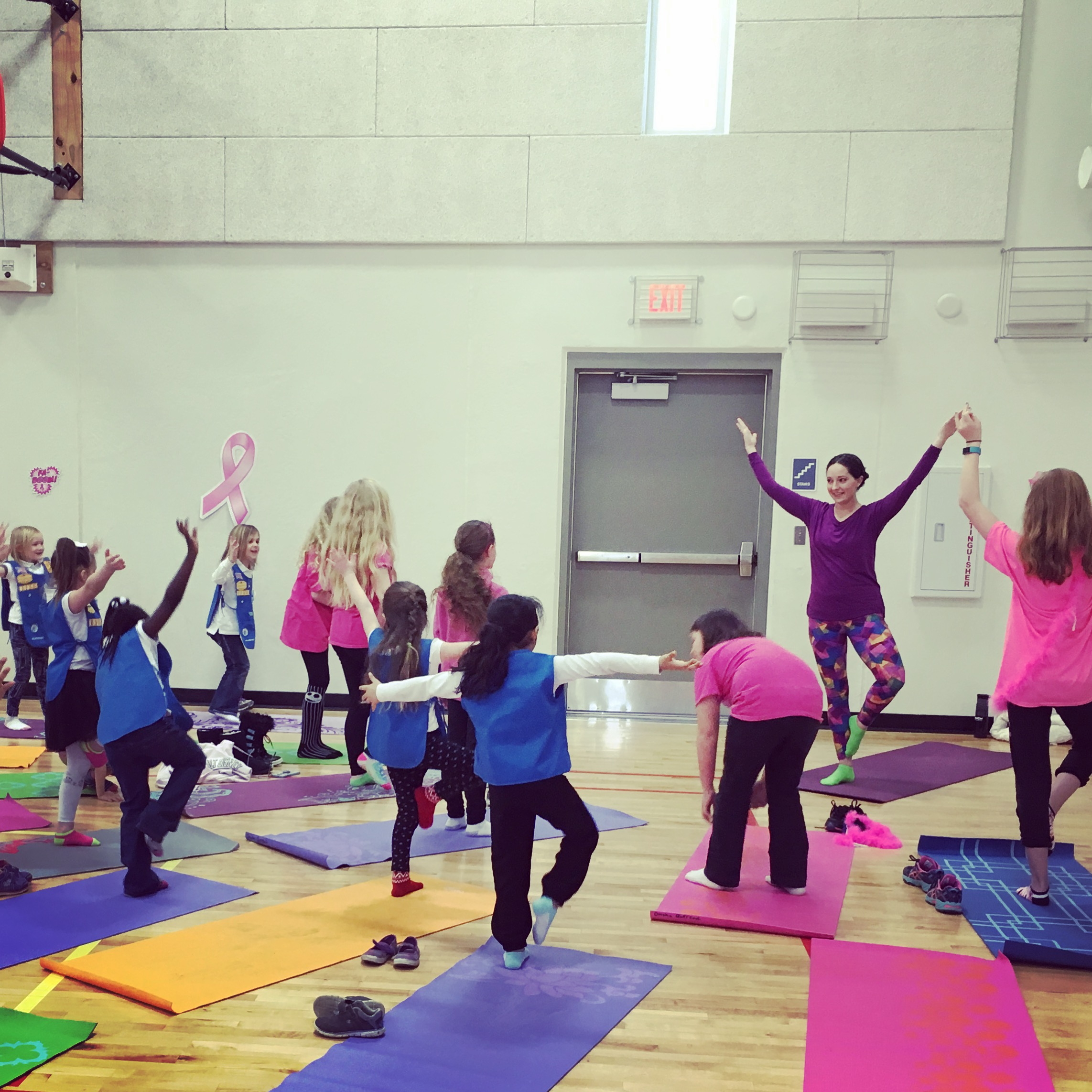 Yoga With Girl Scouts Goldenrod Yoga